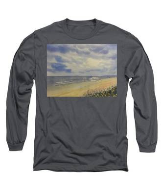 South Beach From The Dunes Long Sleeve T-Shirt