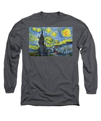 Starry, Starry Night Long Sleeve T-Shirt