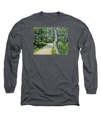 Start Of The Trail Long Sleeve T-Shirt