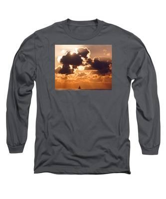 Sun Peek Sailboat Long Sleeve T-Shirt
