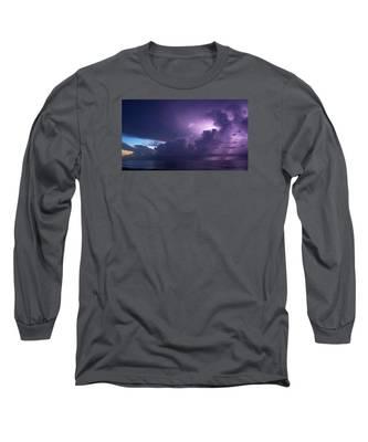 Sunrise Thunderstorm Long Sleeve T-Shirt