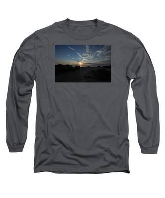 Sunset At Torrey Pines Long Sleeve T-Shirt