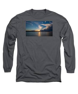 Sunset On The Baltic Sea Long Sleeve T-Shirt