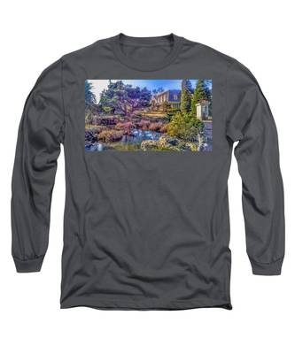 The Pond At Peddler's Village Long Sleeve T-Shirt