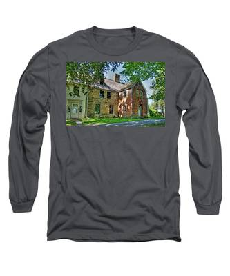The Spencer-peirce-little House In Spring Long Sleeve T-Shirt