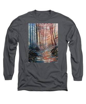 Wander In The Woods Long Sleeve T-Shirt