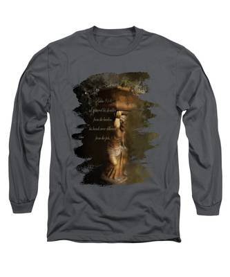 Weight Of The World Long Sleeve T-Shirts