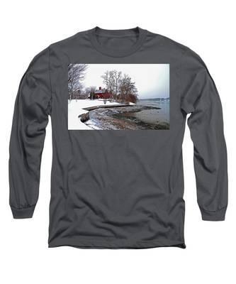 Winter At Perkins House  Long Sleeve T-Shirt