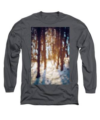Winter In Snow Long Sleeve T-Shirt