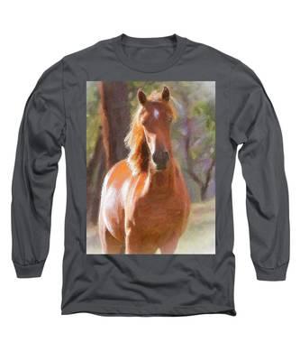 A Horse Long Sleeve T-Shirt