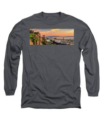 A Nice Evening In The Park - Panorama Long Sleeve T-Shirt