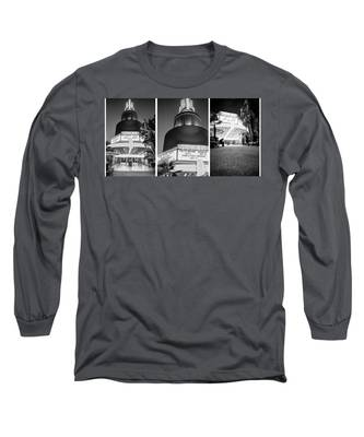 Black And White Triptych- Long Sleeve T-Shirt