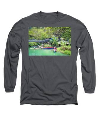 Boat And Rafting Tours Long Sleeve T-Shirt