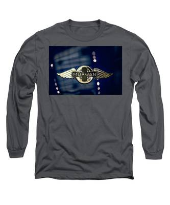 Classic Morgan Name Plate Long Sleeve T-Shirt