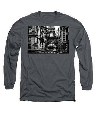 Eiffel Tower - Classic View Long Sleeve T-Shirt