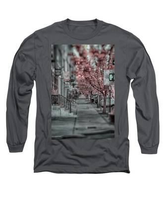 Empty Sidewalk Long Sleeve T-Shirt