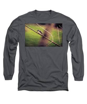 Faded Canvas Woodpecker Long Sleeve T-Shirt