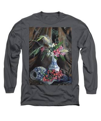 Floral Arrangement Long Sleeve T-Shirt