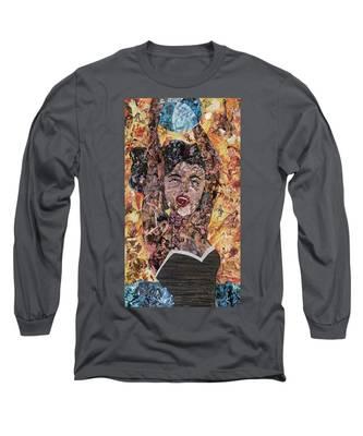 Girl With Ball After Lichtenstein Long Sleeve T-Shirt
