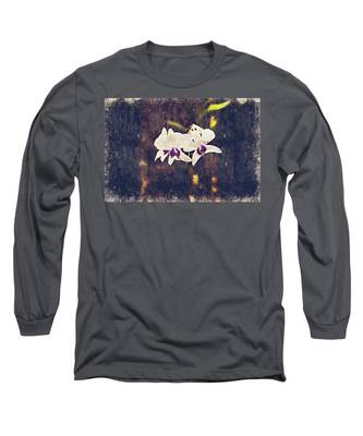 Hawaiian Tree Orchid Long Sleeve T-Shirt