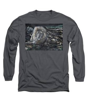 Lion In The Shade Long Sleeve T-Shirt