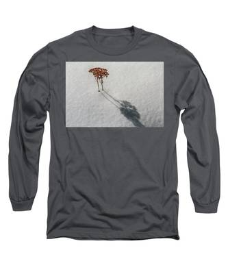Long Shadow Of Winter Long Sleeve T-Shirt