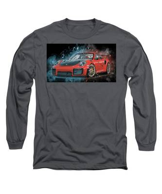 Porsche 911 Gt2 Long Sleeve T-Shirt