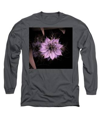 Purple Peculiarity Long Sleeve T-Shirt