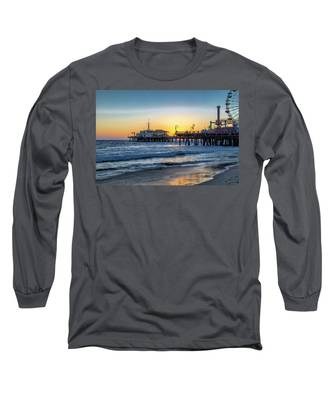 Sunset Under The Pier Long Sleeve T-Shirt
