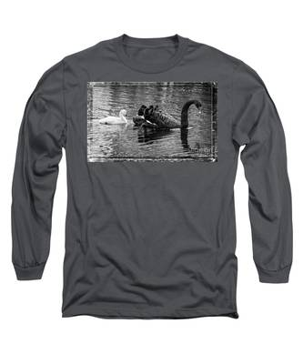 Swan And Signet Long Sleeve T-Shirt
