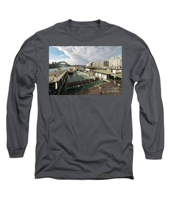 Sydney Circular Quay Long Sleeve T-Shirt by Didier Marti