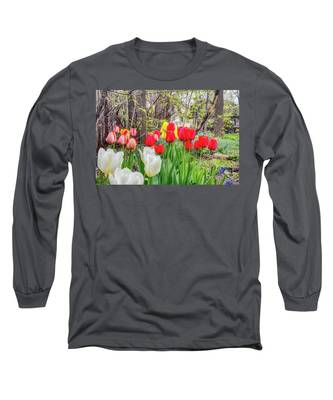 The Tulips Are Out. Long Sleeve T-Shirt