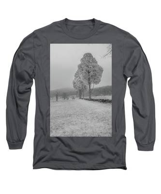 Three Sentinals Long Sleeve T-Shirt