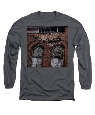 Time's Cathedral Long Sleeve T-Shirt