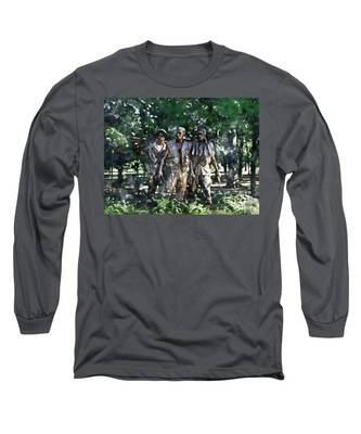 Vietnam Veteran Memorial Long Sleeve T-Shirt