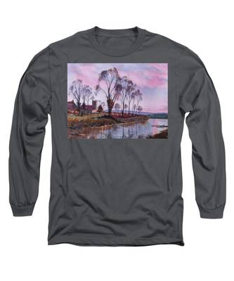Waiting For Sunset Long Sleeve T-Shirt