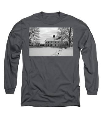 Winter At Noyes House Long Sleeve T-Shirt
