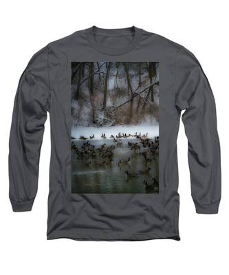 Winter Swim Long Sleeve T-Shirt