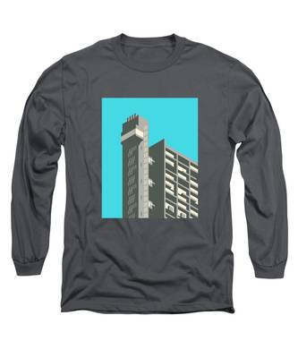 Brutalist Architecture Long Sleeve T-Shirts