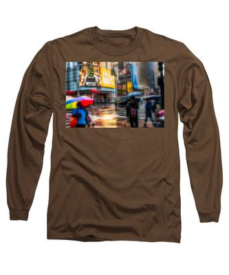 A Rainy Day In New York Long Sleeve T-Shirt