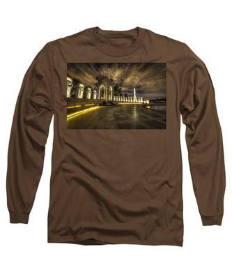 Atlantic Side Of The World War II Memorial Long Sleeve T-Shirt