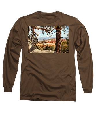 Bryce Canyon Through The Trees Long Sleeve T-Shirt