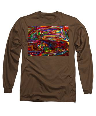 Chaotic Flow Long Sleeve T-Shirt