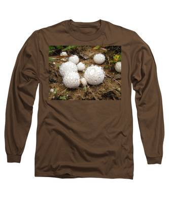 Common Puffball Dewdrop Harvest Long Sleeve T-Shirt
