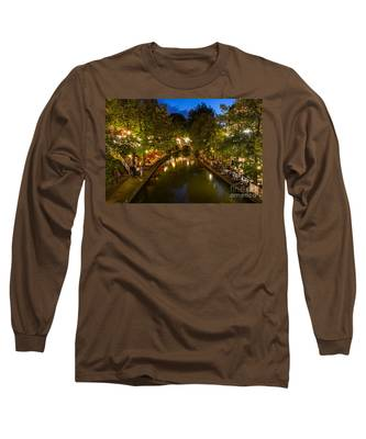 Evening Canal Dinner Long Sleeve T-Shirt