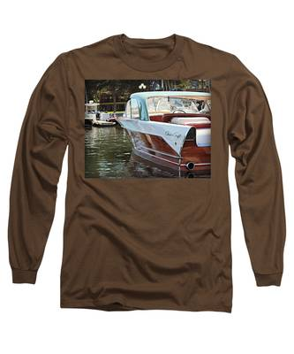 Finned Chris Craft Long Sleeve T-Shirt