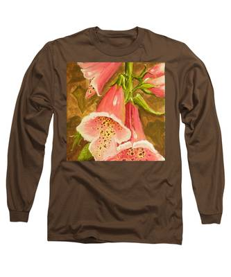 Foxy Foxglove Of Williamsburg Long Sleeve T-Shirt
