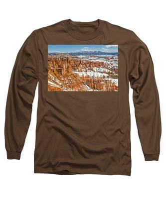 Hoodoos At Sunset Point Long Sleeve T-Shirt