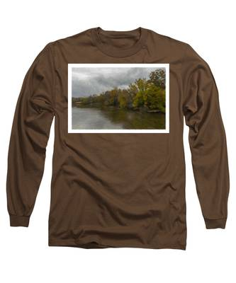 New Milford By Water Side Long Sleeve T-Shirt