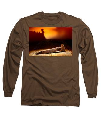 Railroad Spike Long Sleeve T-Shirt